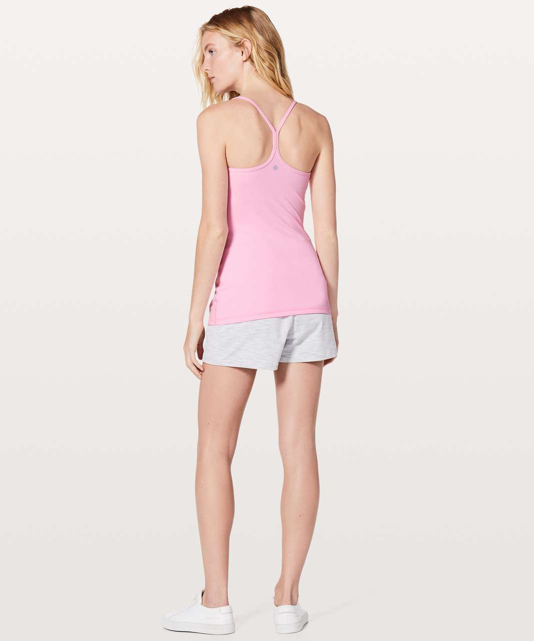 Lululemon Power Y Tank *Luon - Miami Pink