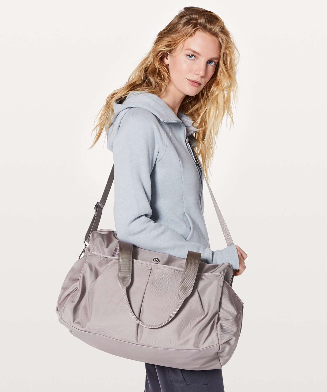 Lululemon All Day Duffel *Heatproof Pocket 31L - Dark Chrome