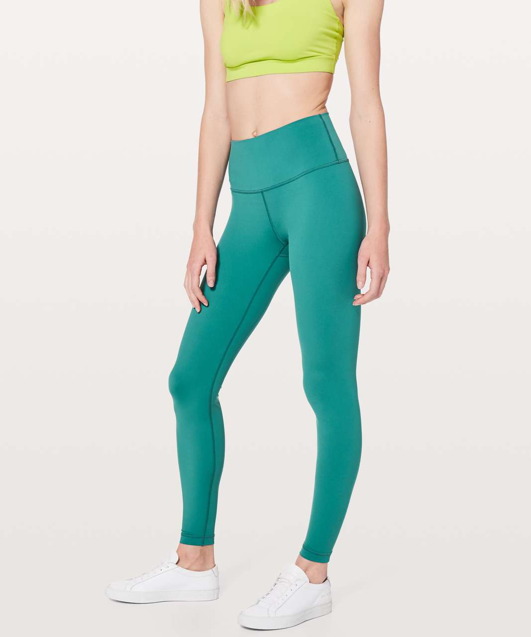 "Lululemon Wunder Under Hi-Rise Tight *Nulux 28"" - Deep Cove"