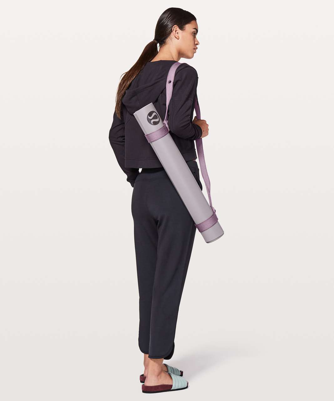 Lululemon Loop It Up Mat Strap *Eyelet - Smoked Mulberry / Violetta