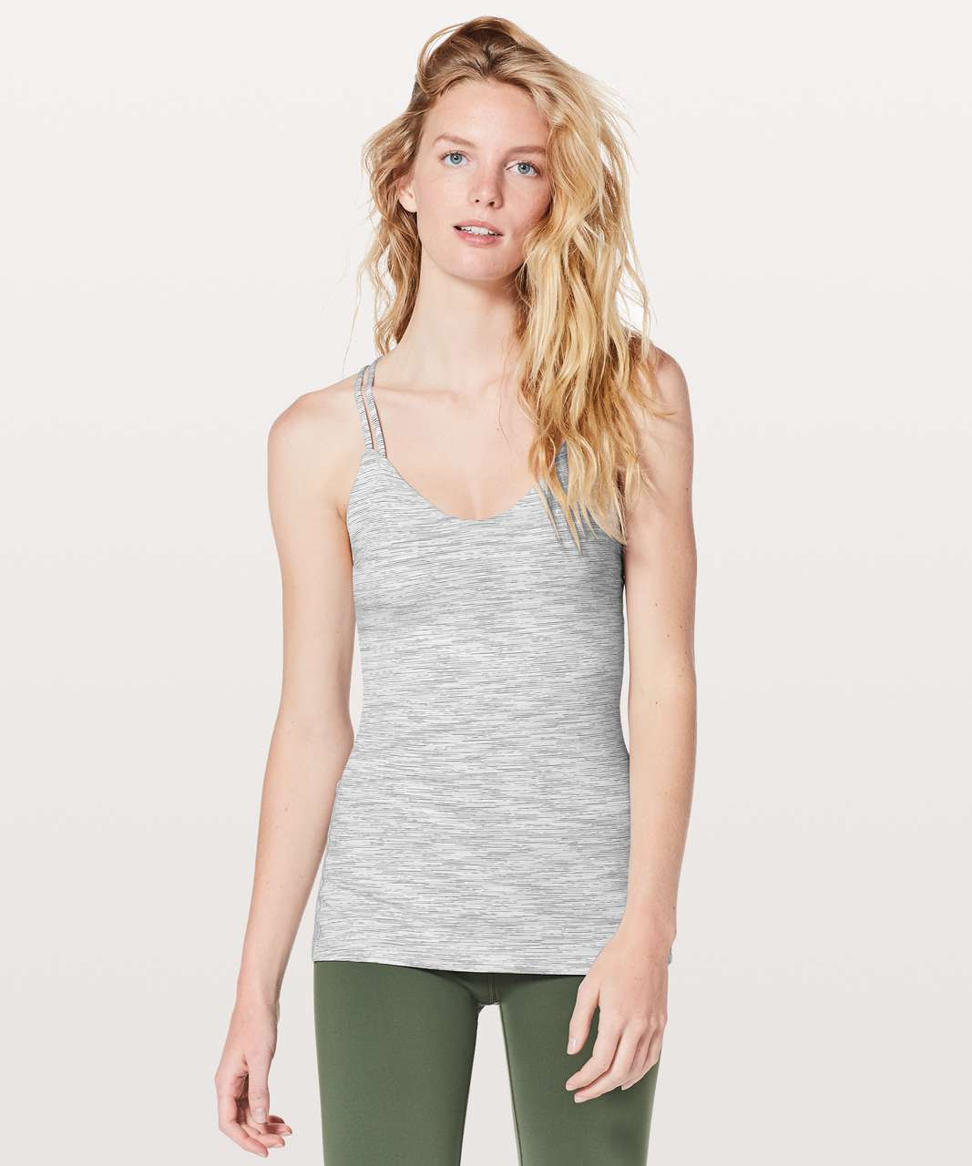 Lululemon Create Your Calm Tank - Wee Are From Space Nimbus Battleship