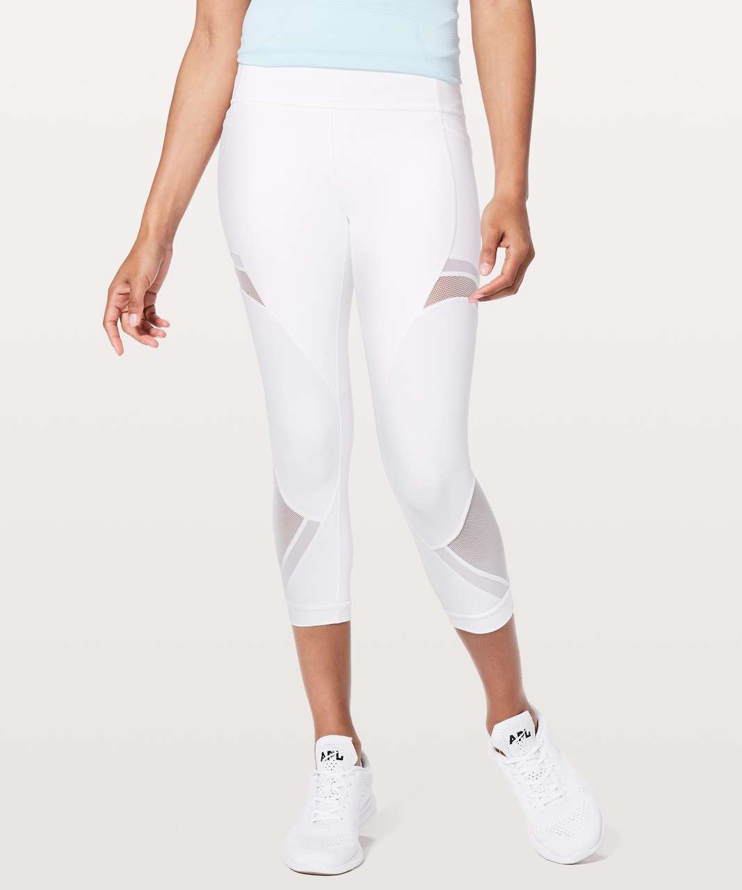 "Lululemon Forget The Sweat Crop *21"" - White"