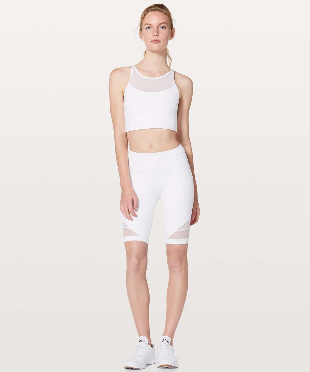 Lululemon Forget The Sweat Short - White