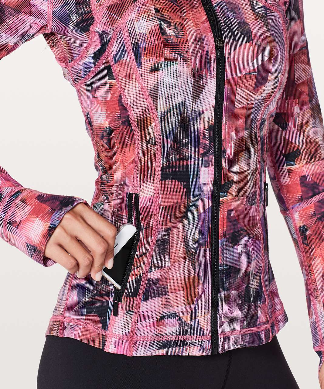 Lululemon Define Jacket *Nulux - Sun Dazed Multi Pink