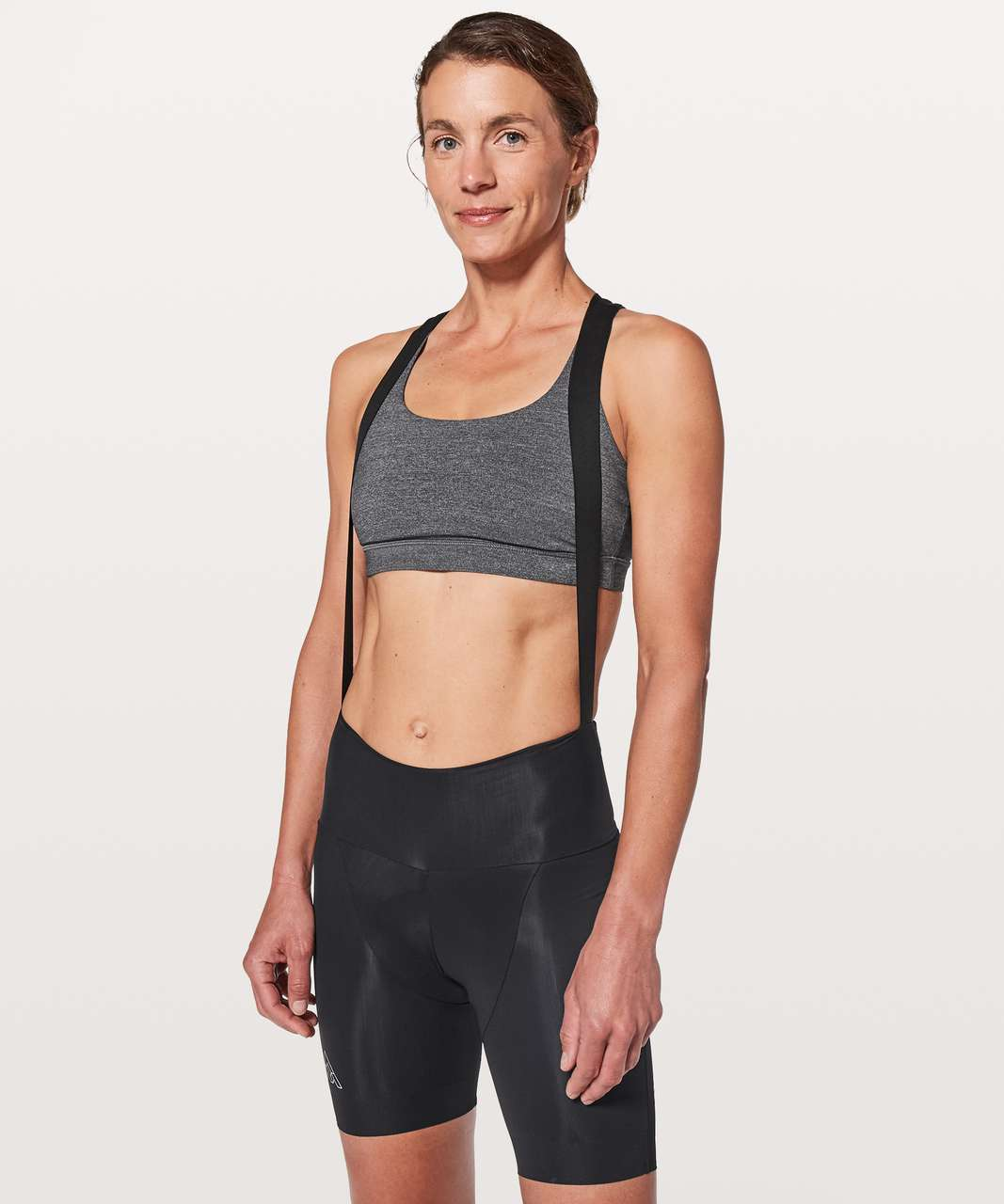 Lululemon 7Mesh Wk2 Bib-Short - Black
