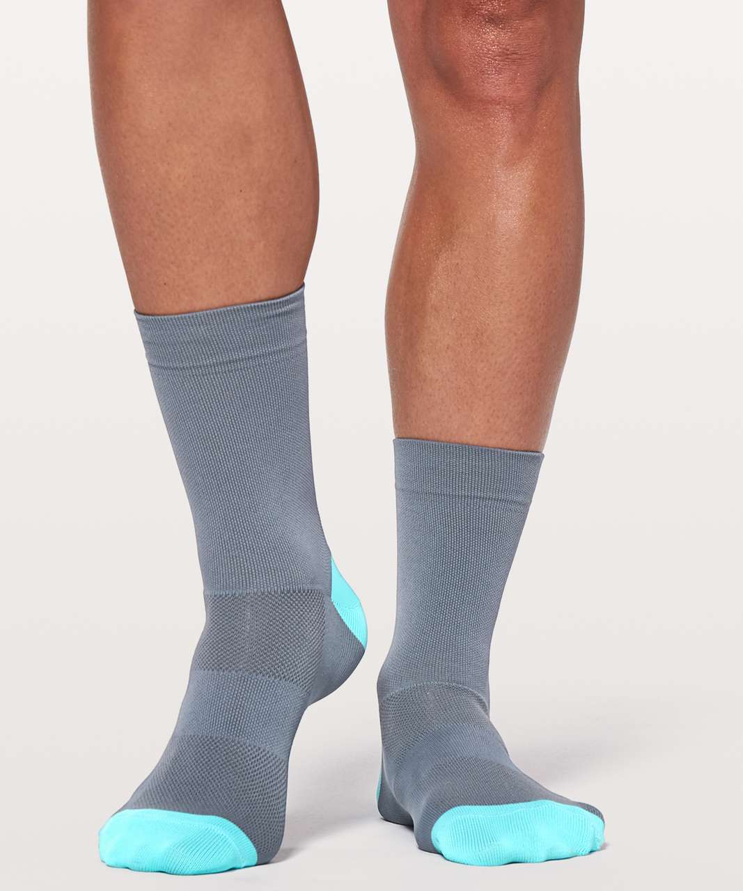 "Lululemon 7Mesh Word Sock *6"" - Storm Cloud"