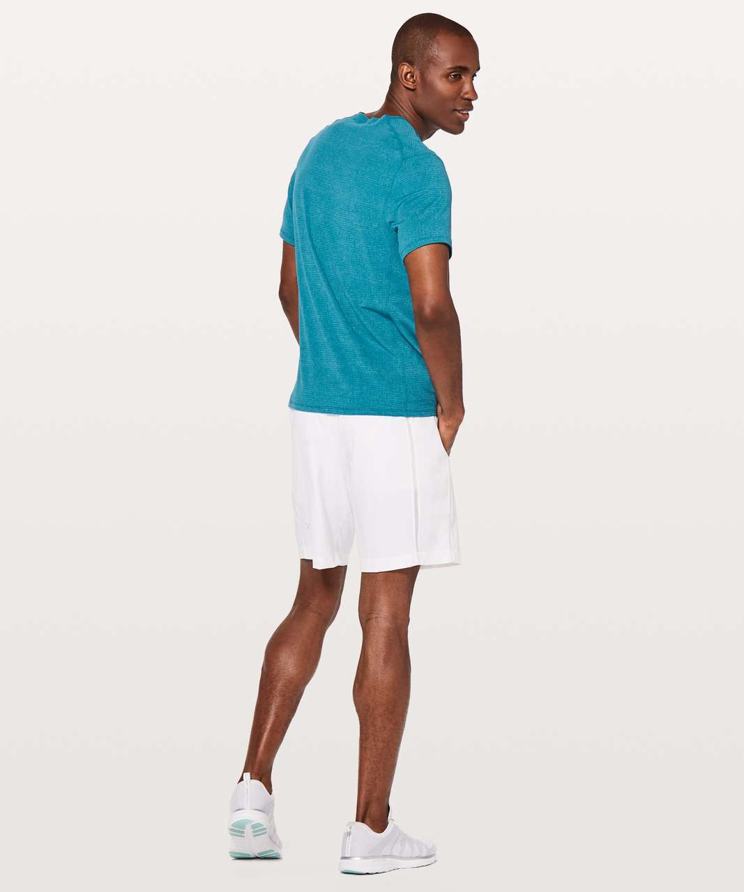 Lululemon In Mind Short Sleeve - Heathered Cyprus
