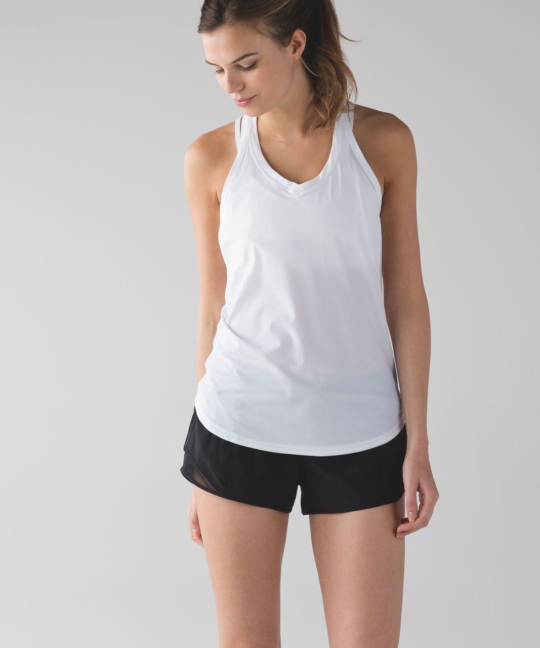 Lululemon Fast Lane Singlet - White