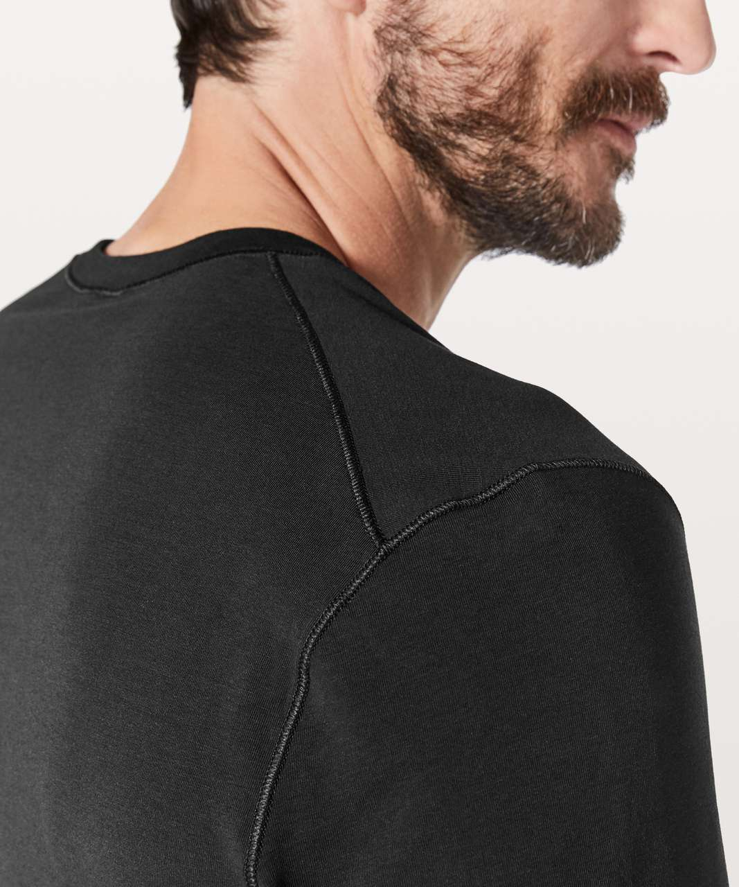 Lululemon 5 Year Basic Short Sleeve Henley - Black