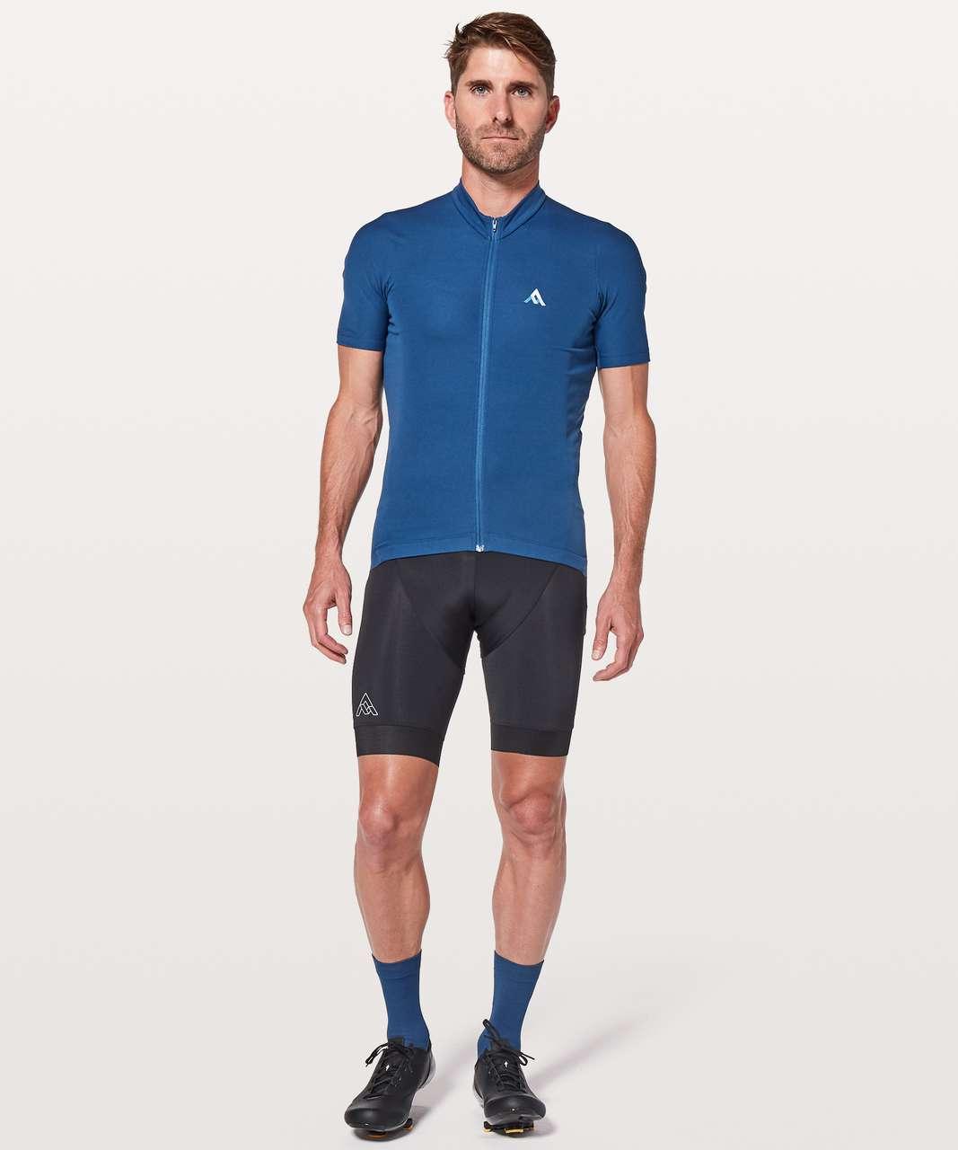 Lululemon 7Mesh Quantum Jersey Short Sleeve - Cadet Blue