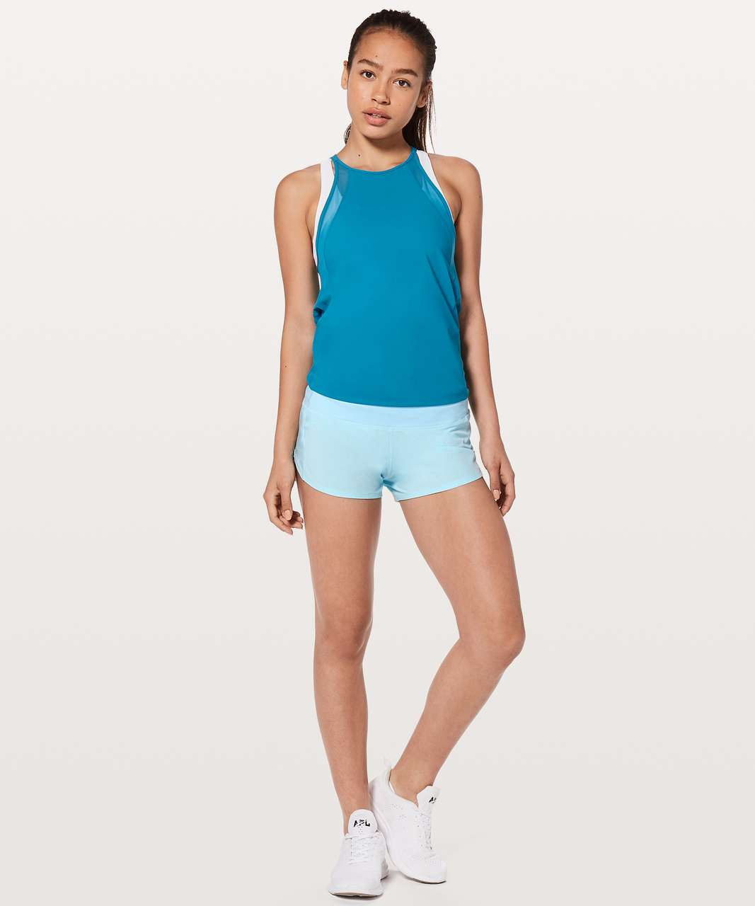 "Lululemon Speed Up Short *2.5"" - Blue Glow"