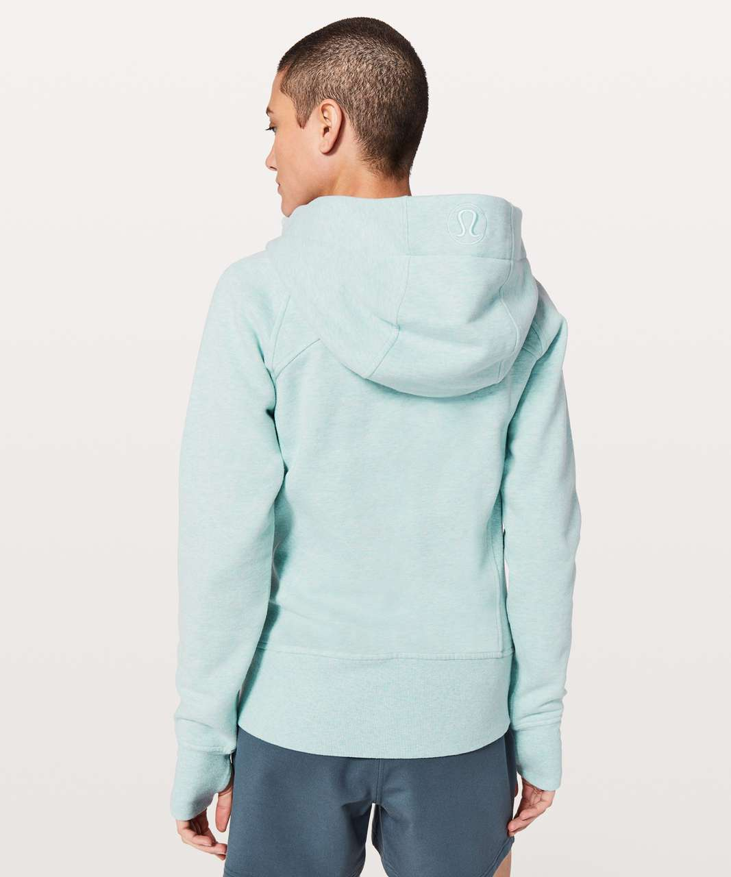 Lululemon Scuba Hoodie *Light Cotton Fleece - Heathered Frosty