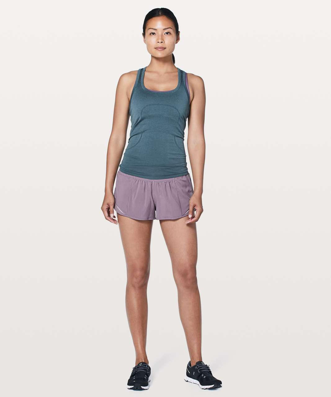 "Lululemon Hotty Hot Short II *2.5"" - Smoked Mulberry"