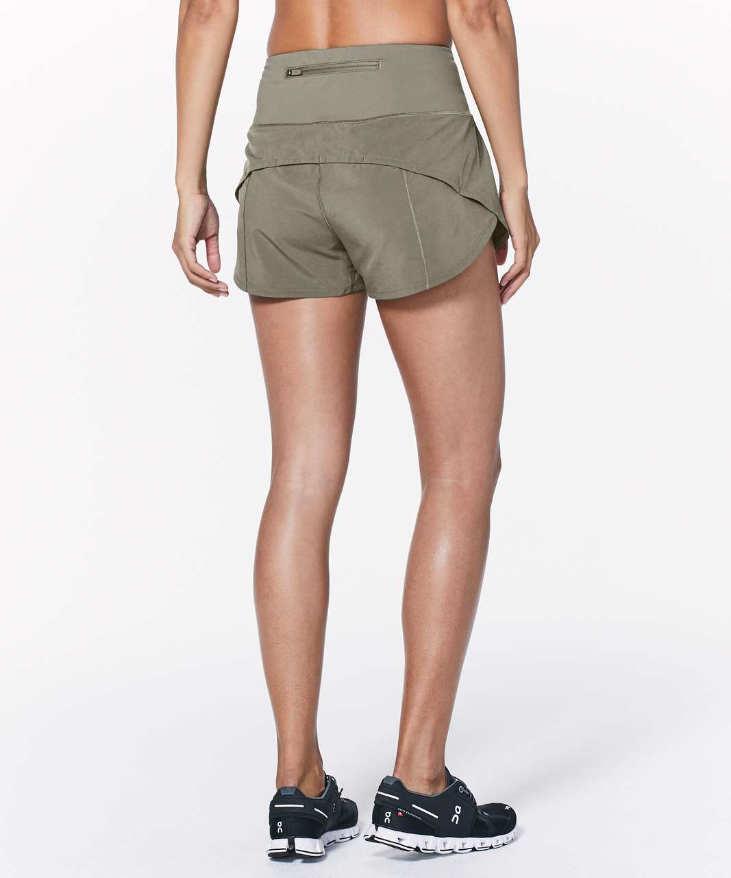 "Lululemon Speed Up Short Hi-Rise *2.5"" - Sage"