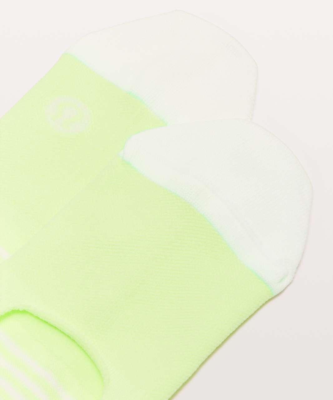 Lululemon Secret Sock - Clear Mint / White