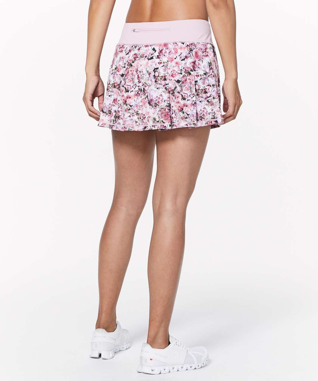Lululemon Pace Rival Skirt (Regular) *No Panels - Blossom Spritz Multi / Pink Chalk