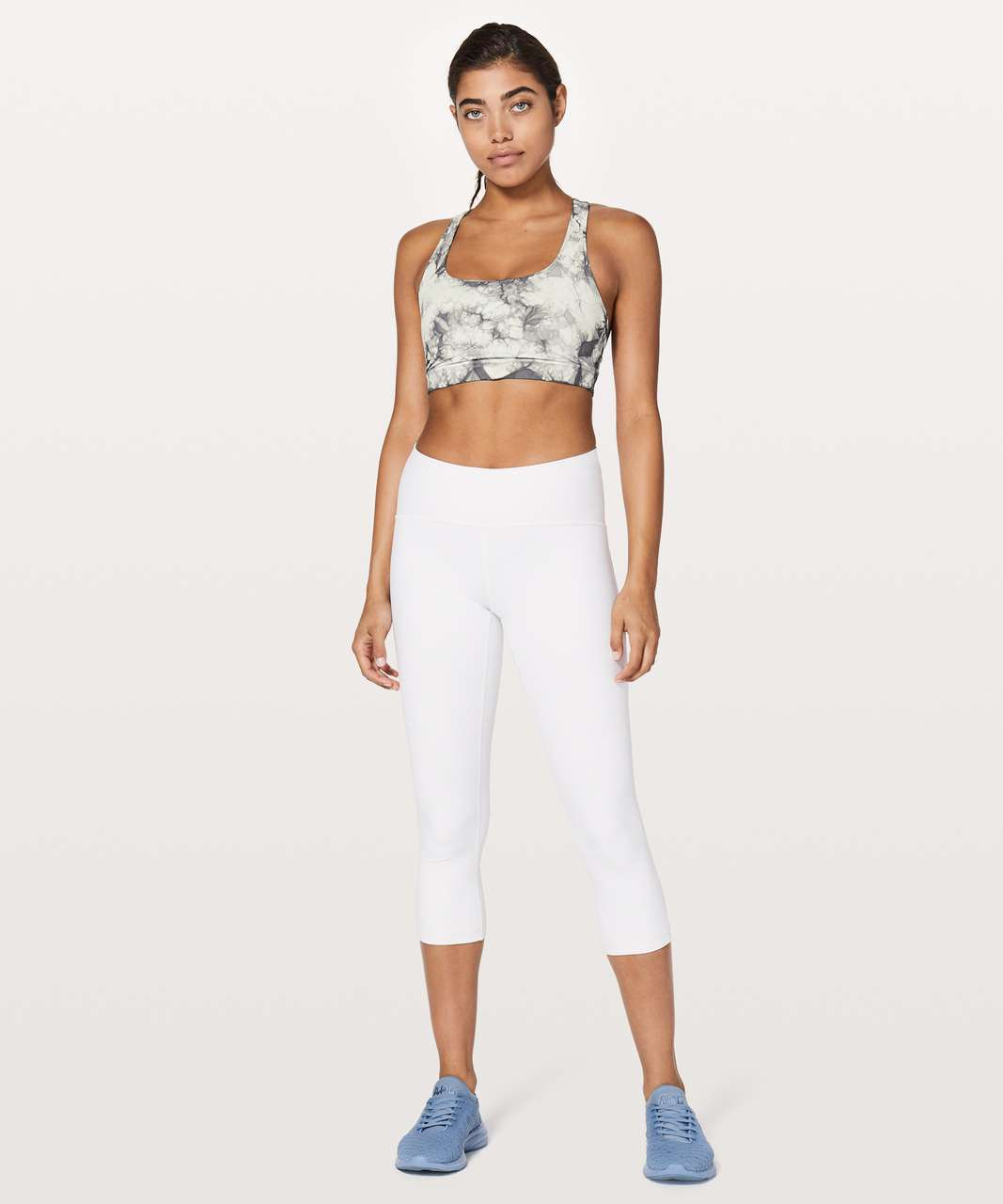 Lululemon Energy Bra *Shibori - Dual Shibori Antique White Baltic Grey