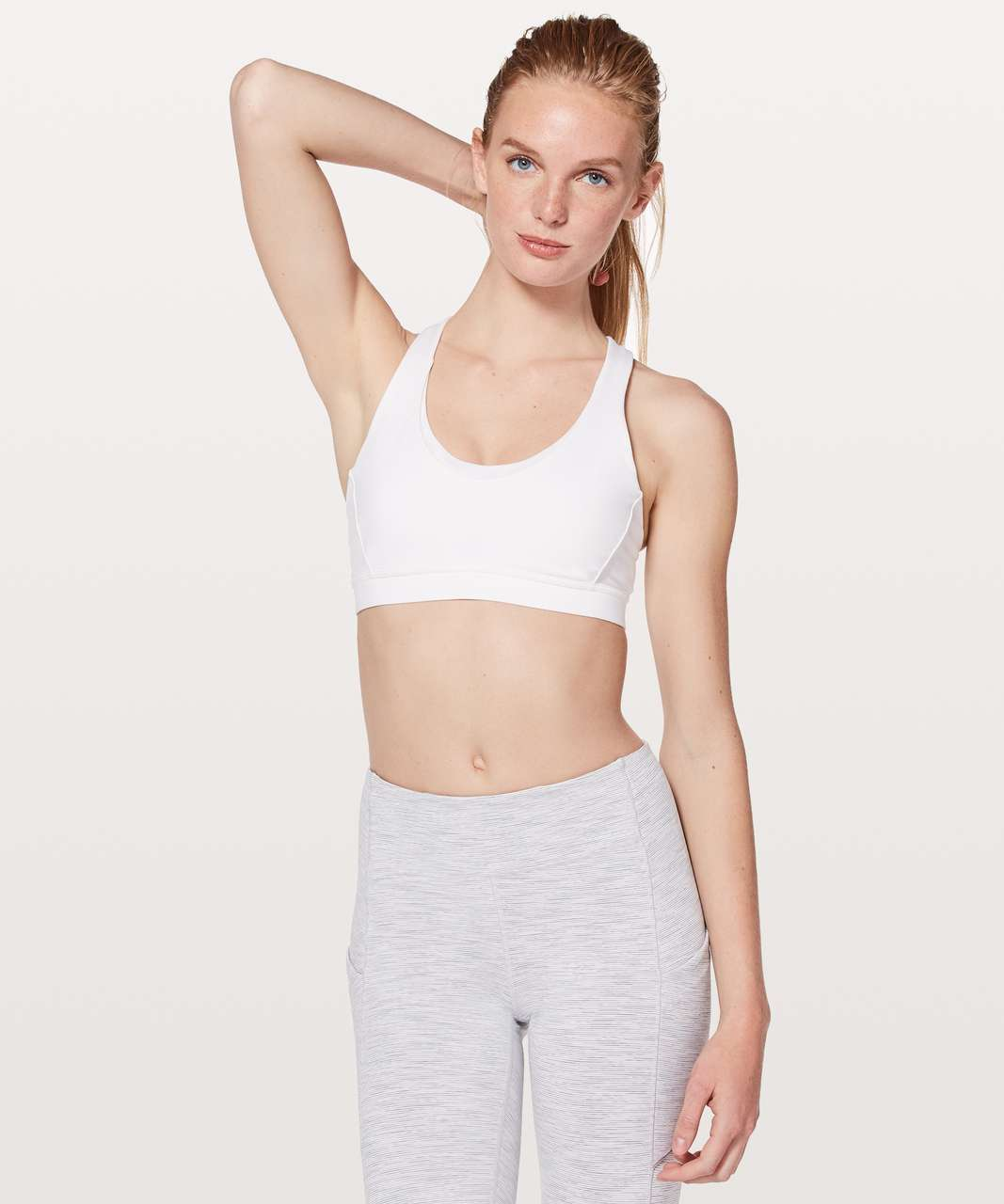 Lululemon Stash N' Run Bra - White