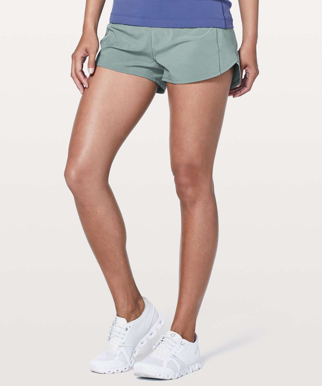 "Lululemon Speed Up Short *2.5"" - Juniper"