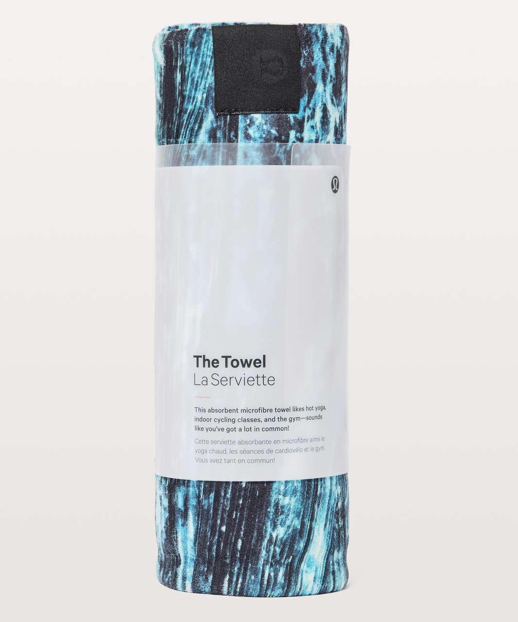 Lululemon The Towel - Shorelines Multi Blue