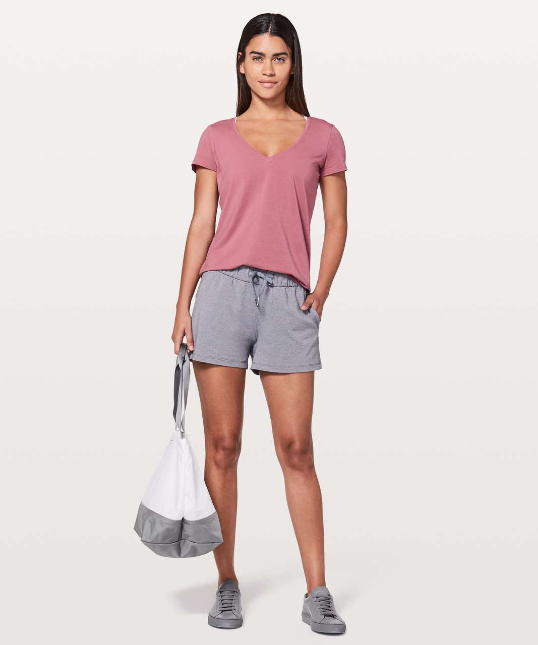 Lululemon Love Tee V - Moss Rose