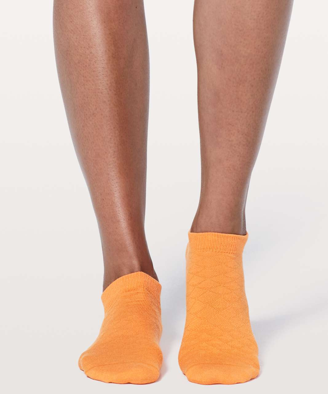 Lululemon On The Fly Sock *Mountain - Vivid Amber