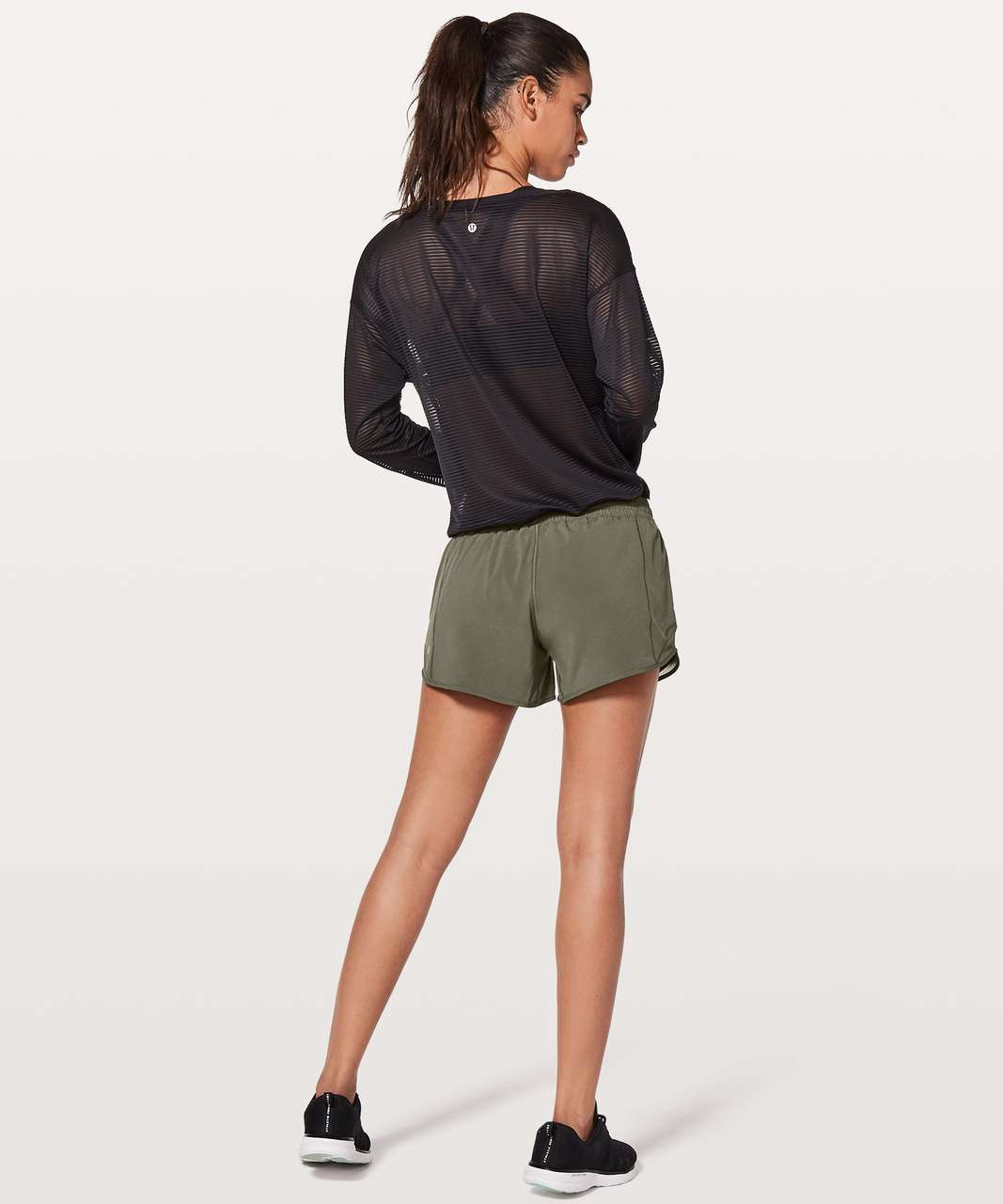 "Lululemon Hotty Hot Short II *Long 4"" - Sage"