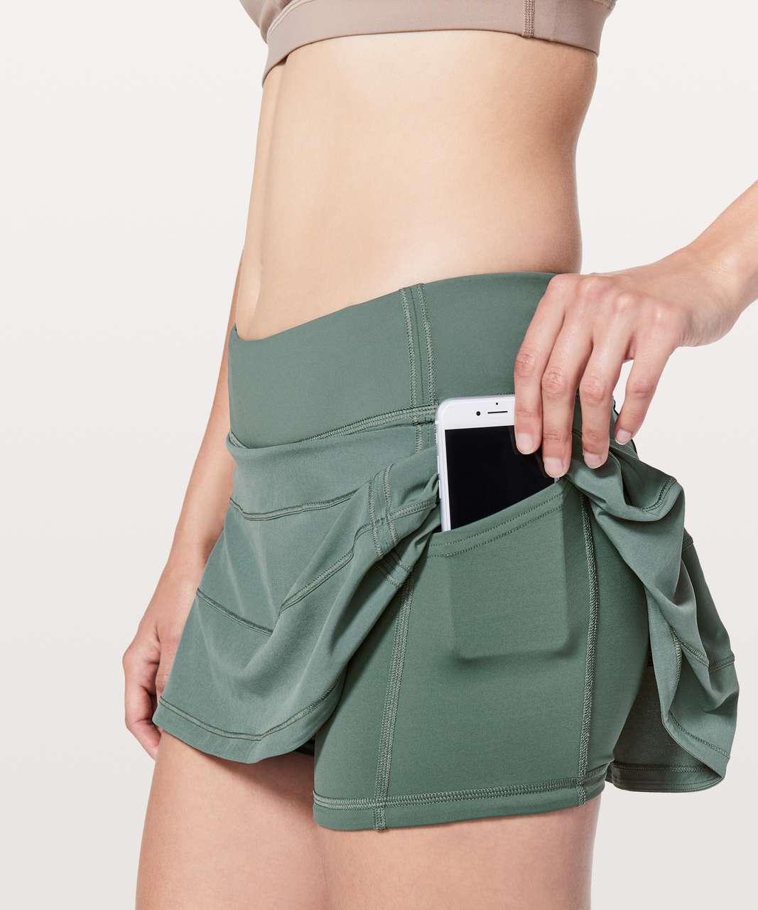 """Lululemon Pace Rival Skirt (Regular) *4-way Stretch 13"""" - Juniper"""
