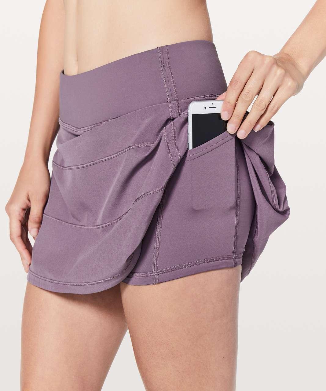 "Lululemon Pace Rival Skirt (Tall) *4-way Stretch 15"" - Smoked Mulberry"