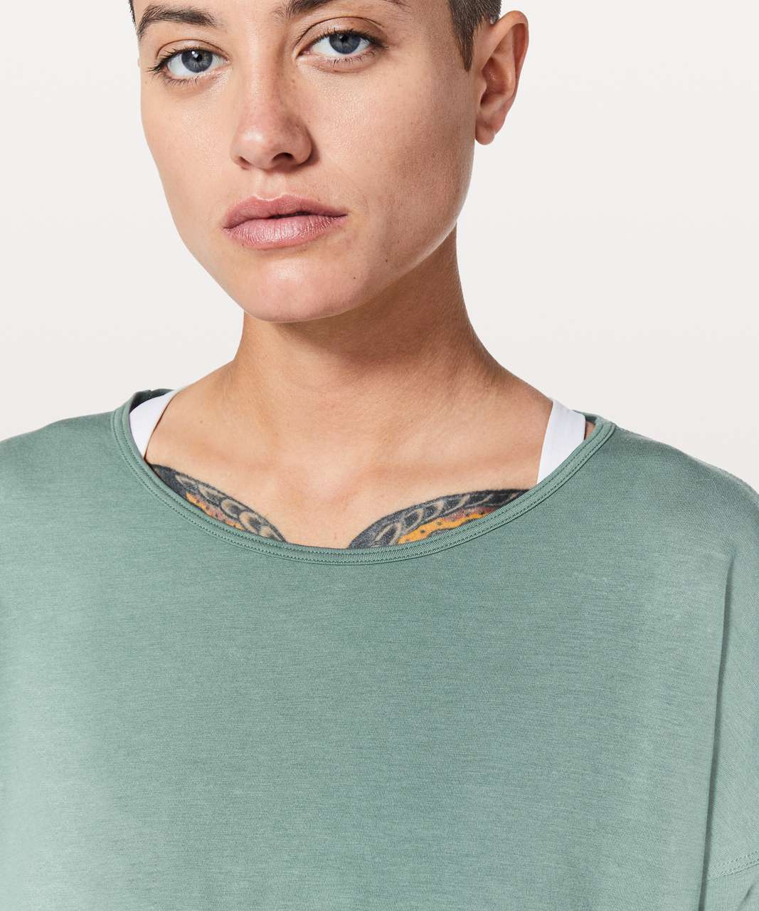 Lululemon Back Into It Long Sleeve - Juniper
