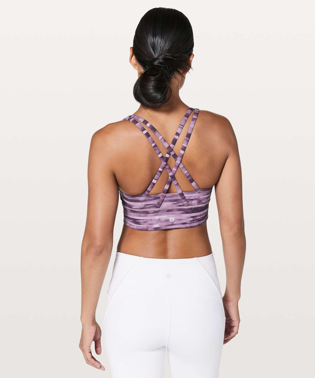 Lululemon Energy Bra *Long Line - Shadowed Smoked Mullberry