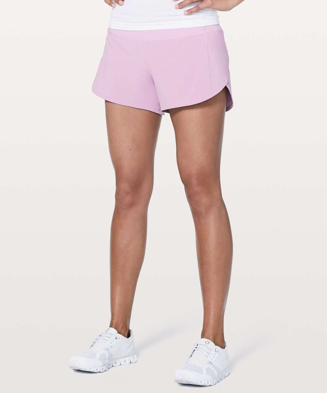 "Lululemon Speed Up Short *Long 4"" - Violetta"
