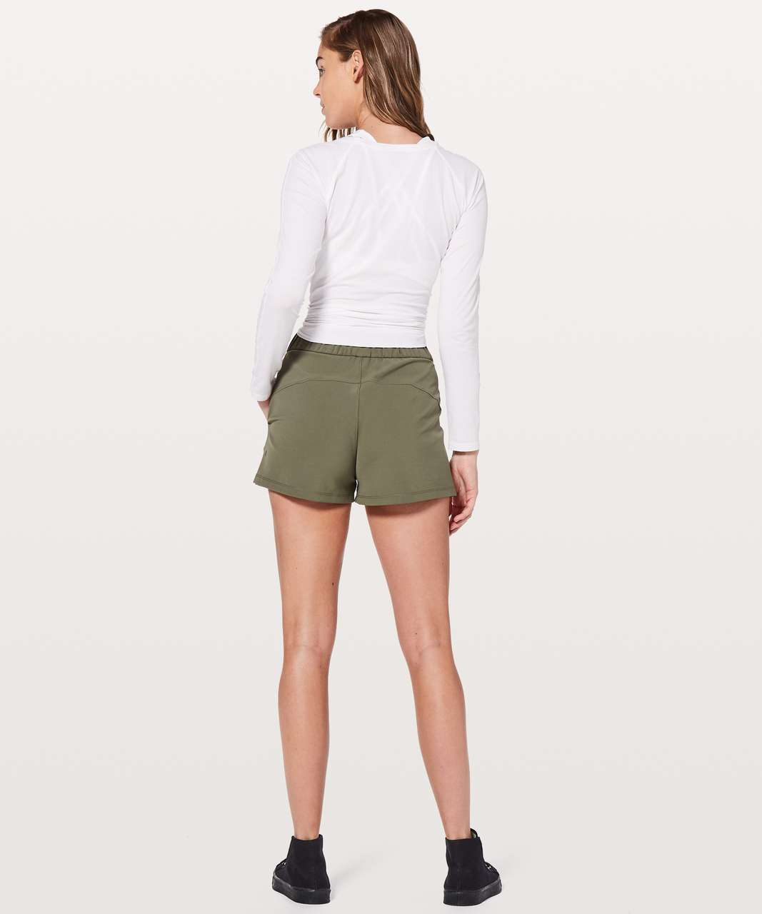 "Lululemon On The Fly Short *2.5"" - Sage"