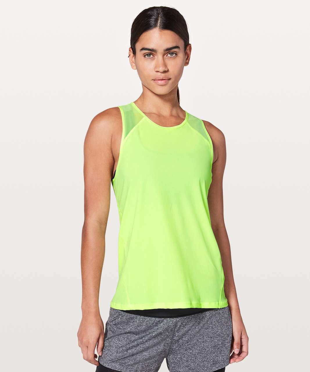 Lululemon For The Run Tank - Clear Mint