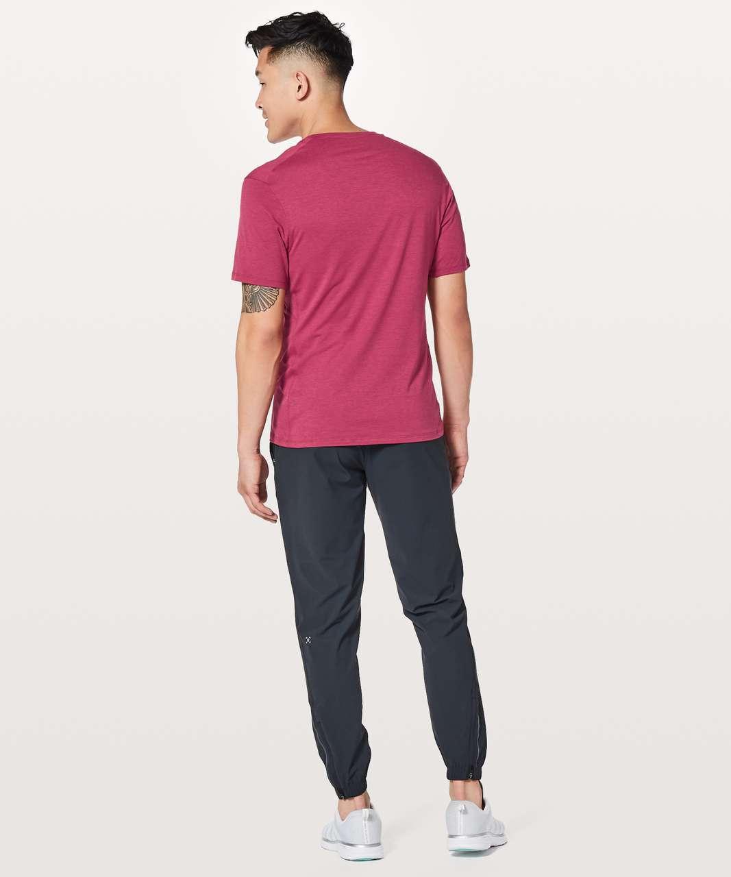Lululemon Somatic Aero Short Sleeve - Violet Red