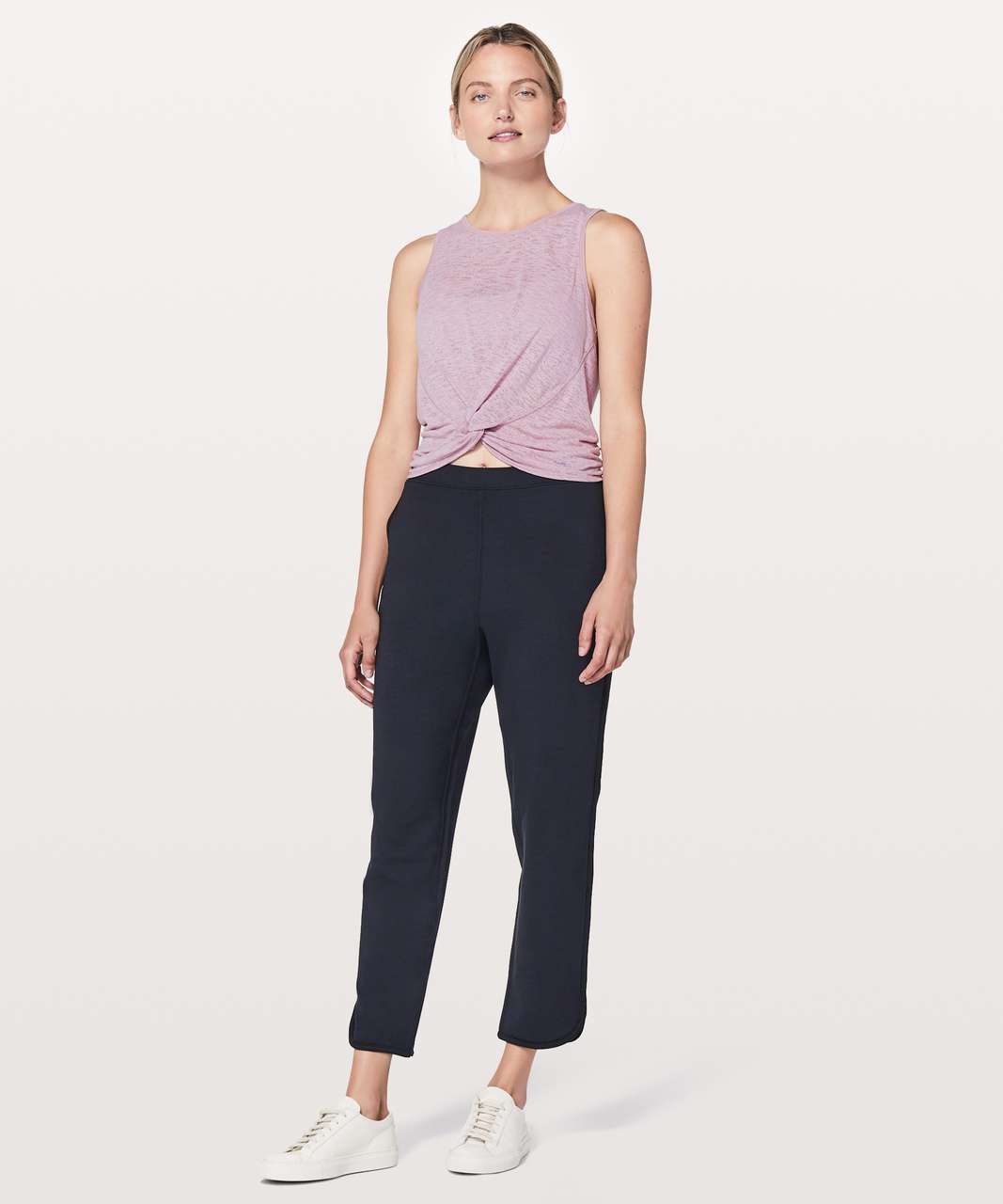 Lululemon Breeze Through Twist Tank - Rose Blush