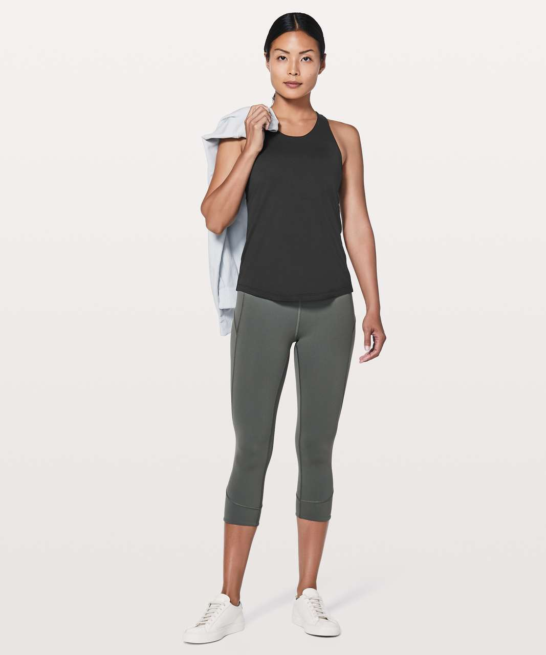 Lululemon Sweat Reps 2 In 1 Tank - Black