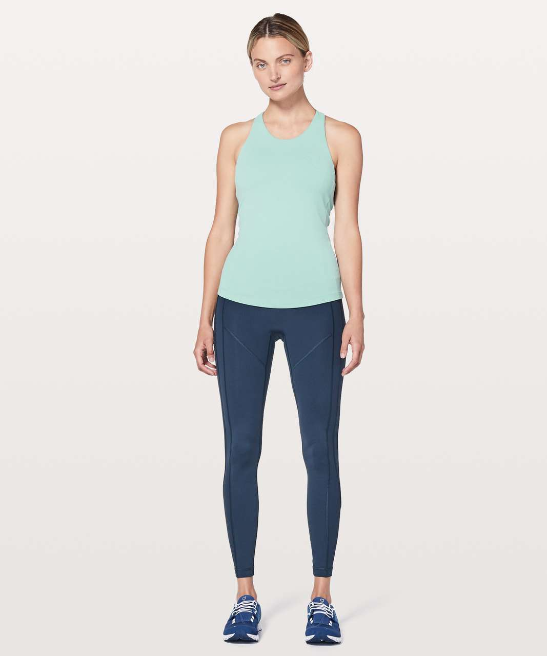 Lululemon Sweat Reps 2 In 1 Tank - Rip Tide