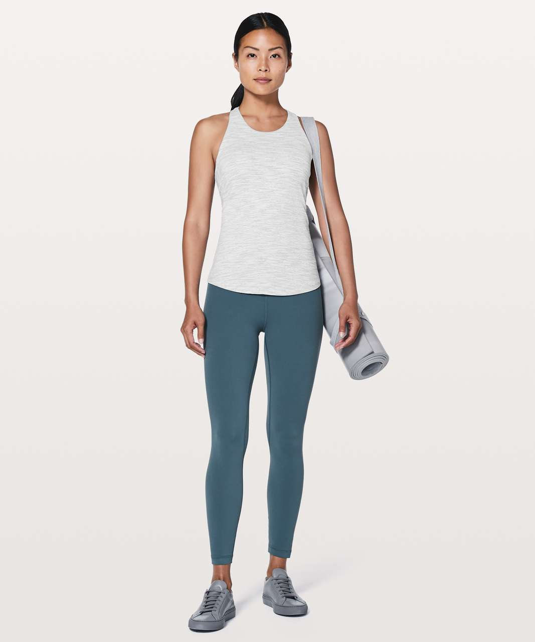 Lululemon Sweat Reps 2 In 1 Tank - Wee Are From Space Nimbus Battleship