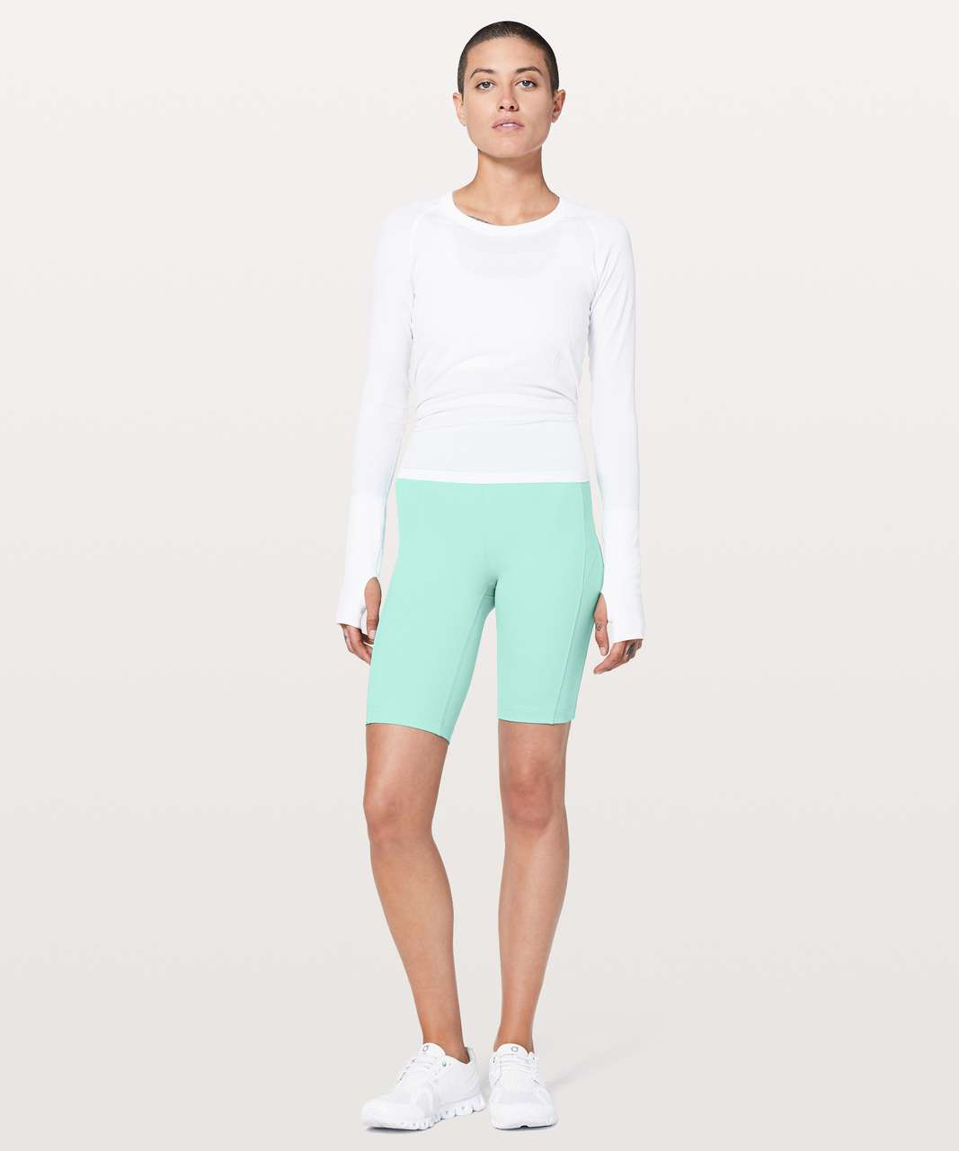 "Lululemon On Pace Short *10"" - Washed Marsh"