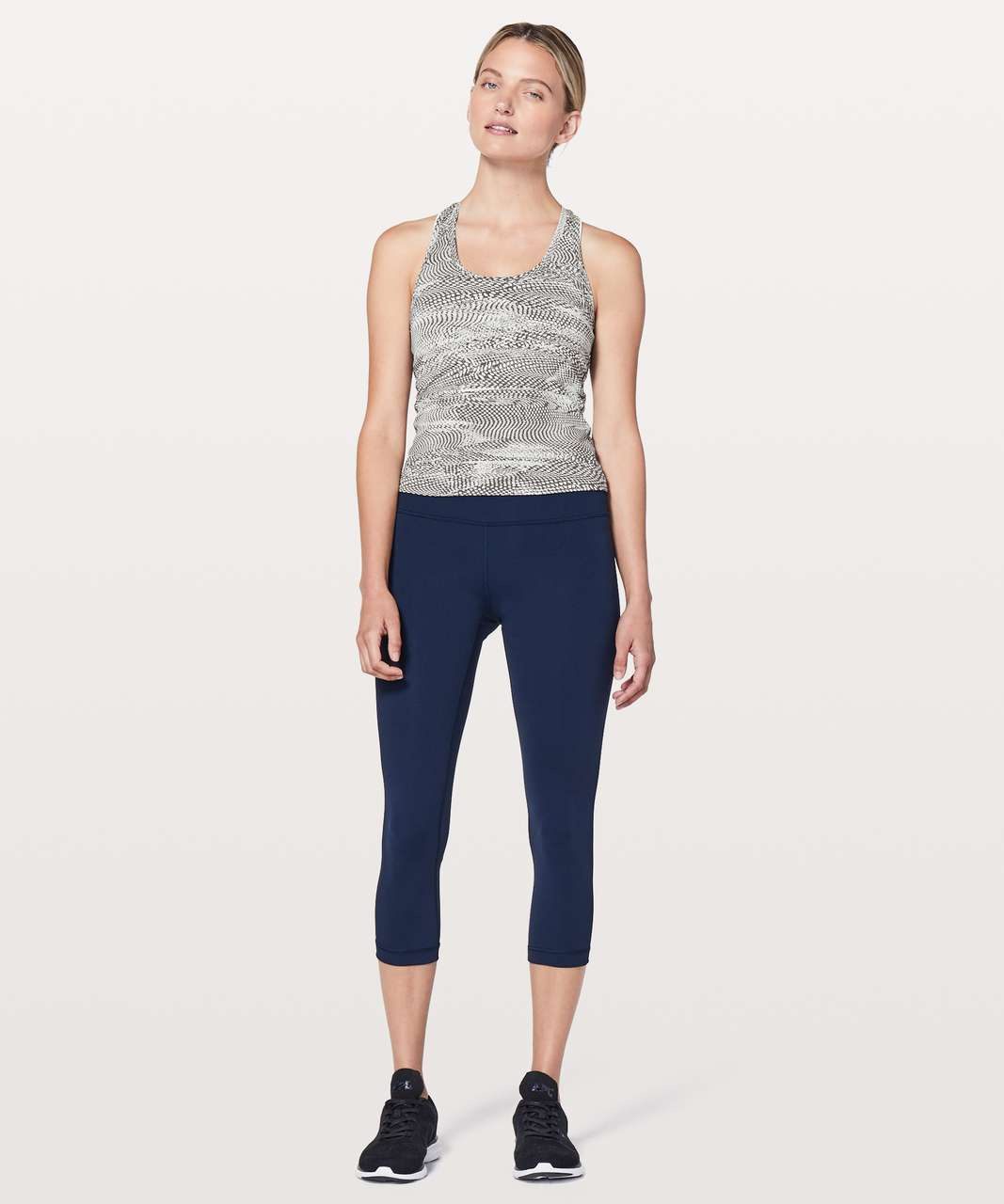 Lululemon Cool Racerback II *Race Length - Swerve Vapor Metal Grey
