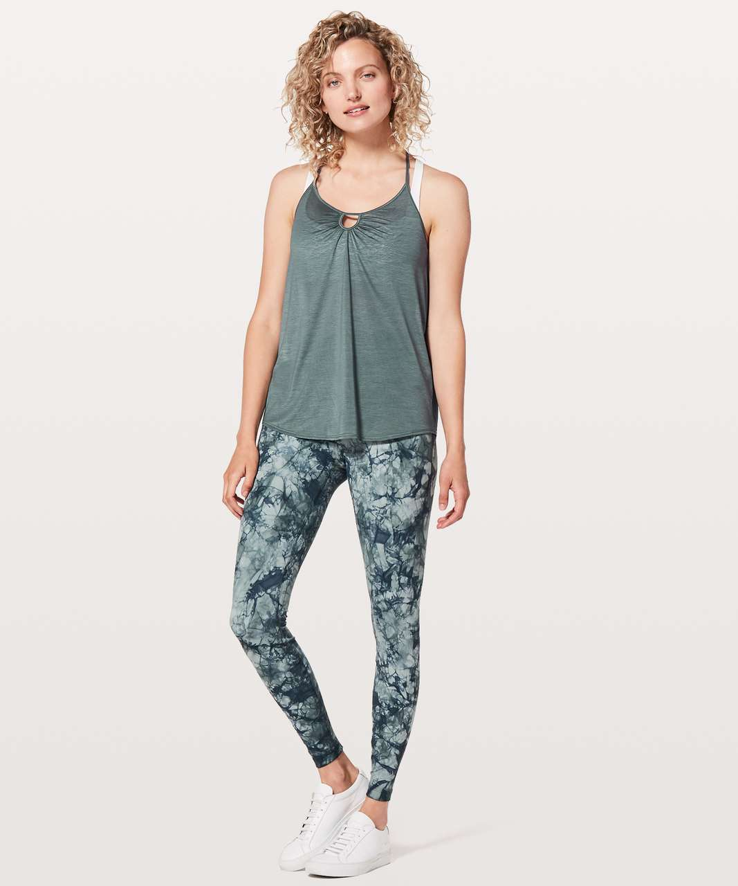 Lululemon Tighten Up Tank - Sea Steel