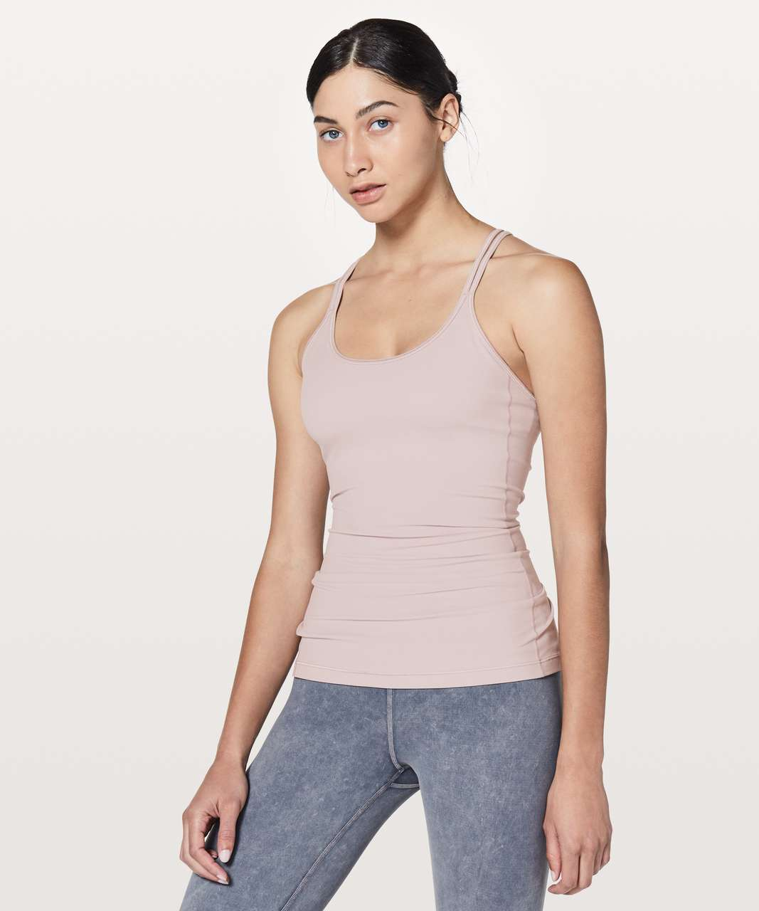 Lululemon Free To Be Tank *Nulu - Smoky Blush