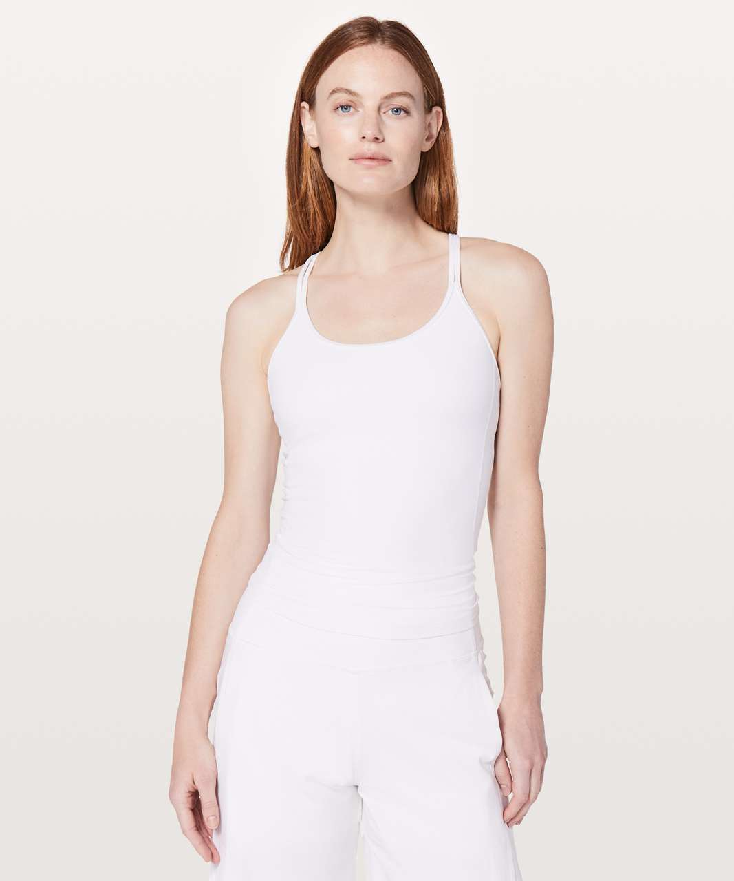 Lululemon Free To Be Tank *Nulu - White (First Release)