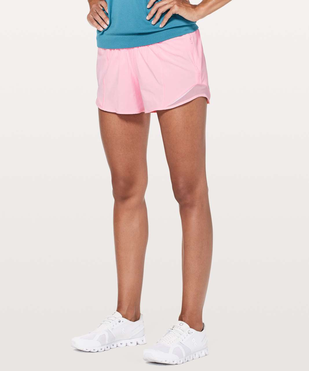 "Lululemon Hotty Hot Short II *Long 4"" - Miami Pink"