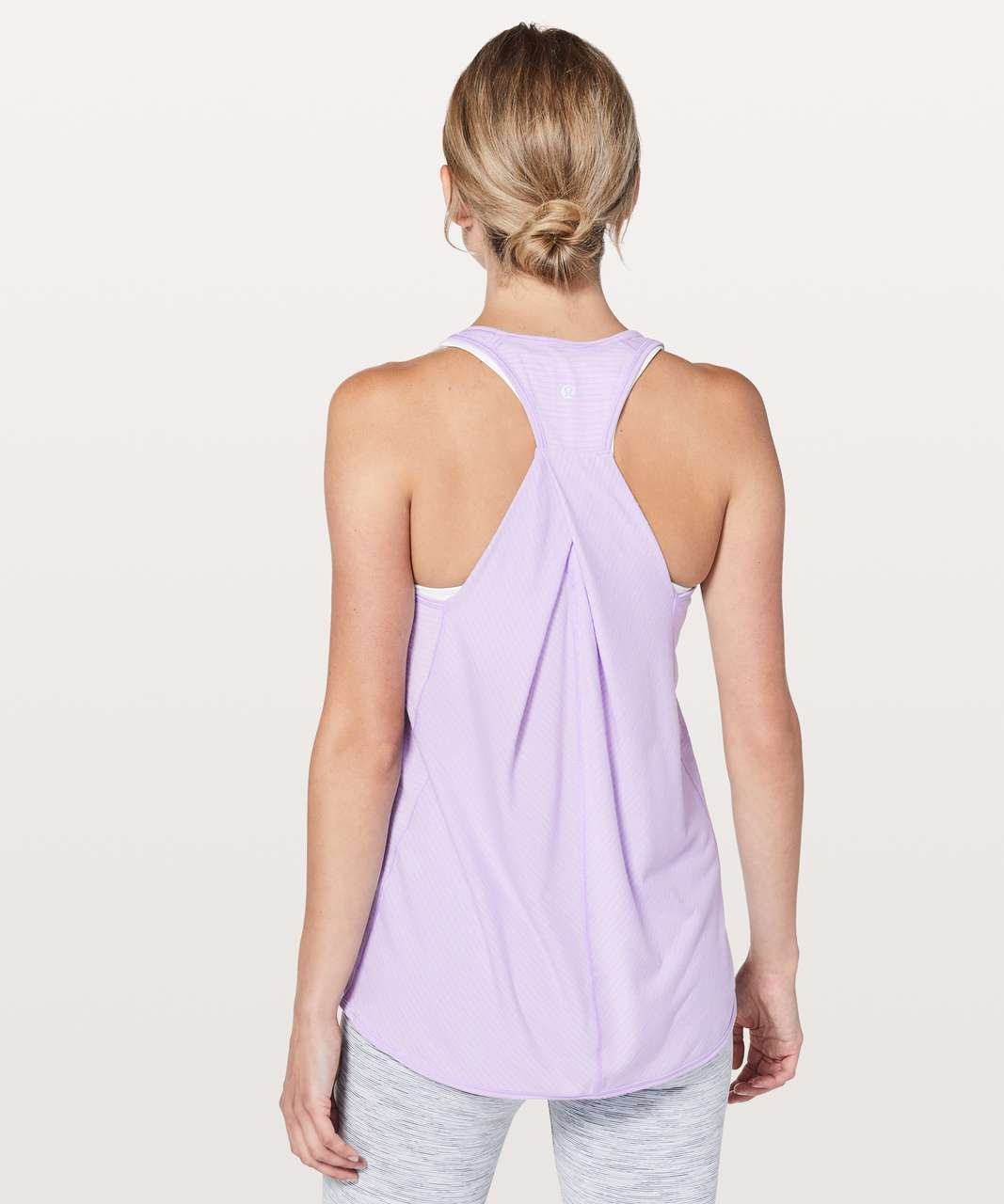 Lululemon Essential Tank - Heathered Sheer Violet