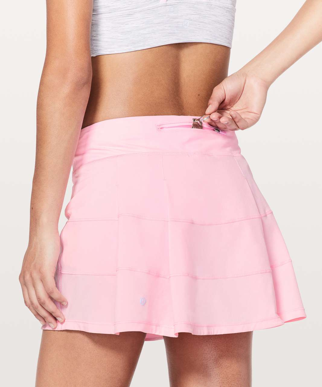 "Lululemon Pace Rival Skirt (Tall) *4-way Stretch 15"" - Miami Pink"