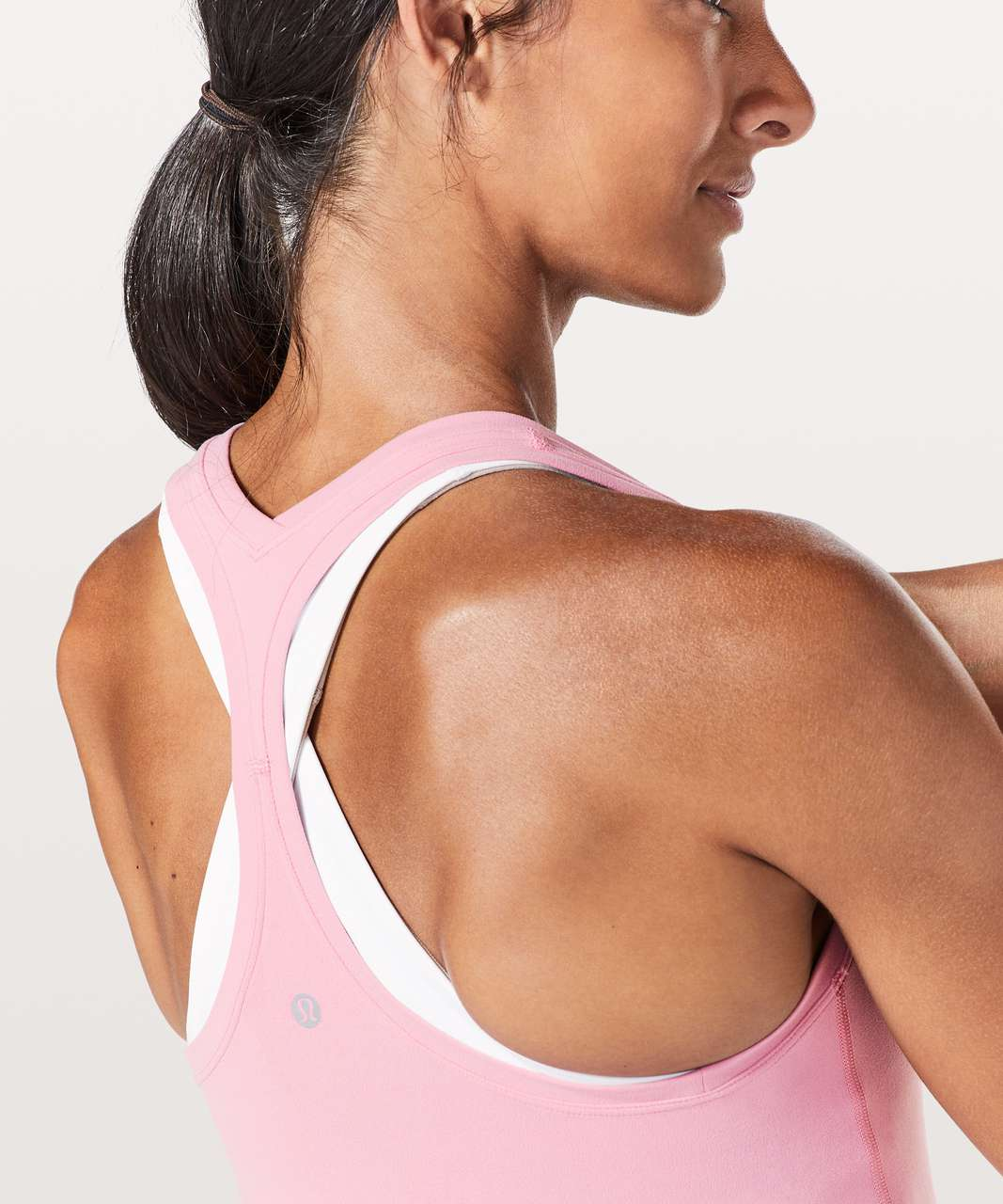 Lululemon Cool Racerback II *Nulu - Rose Tea
