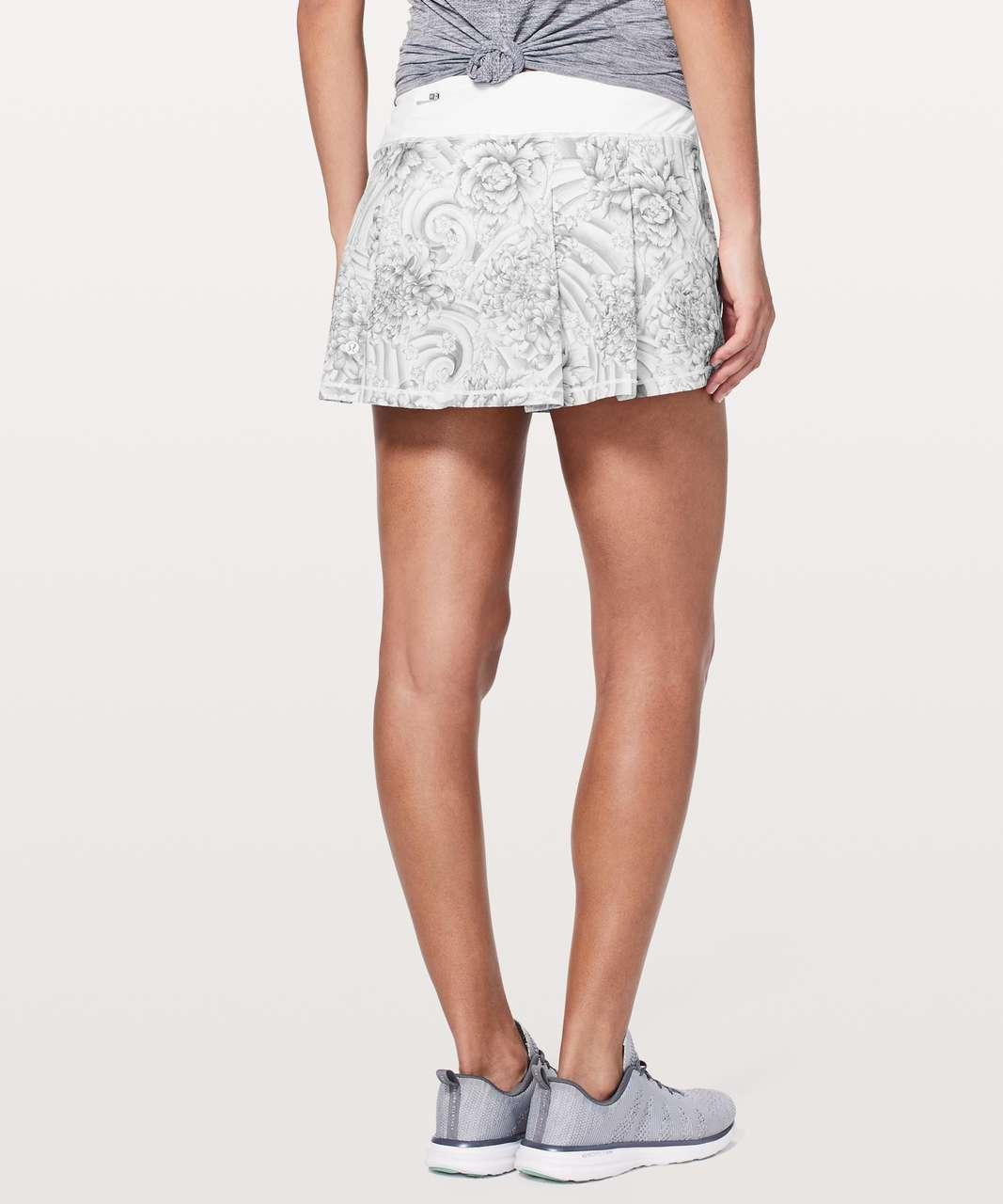 Lululemon Pace Rival Skirt (Regular) *No Panels - Mini Twine White Multi / White