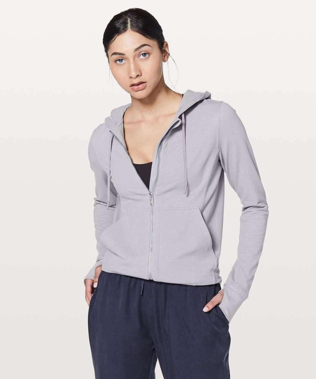 Lululemon Press Pause Jacket - Lavender Grey